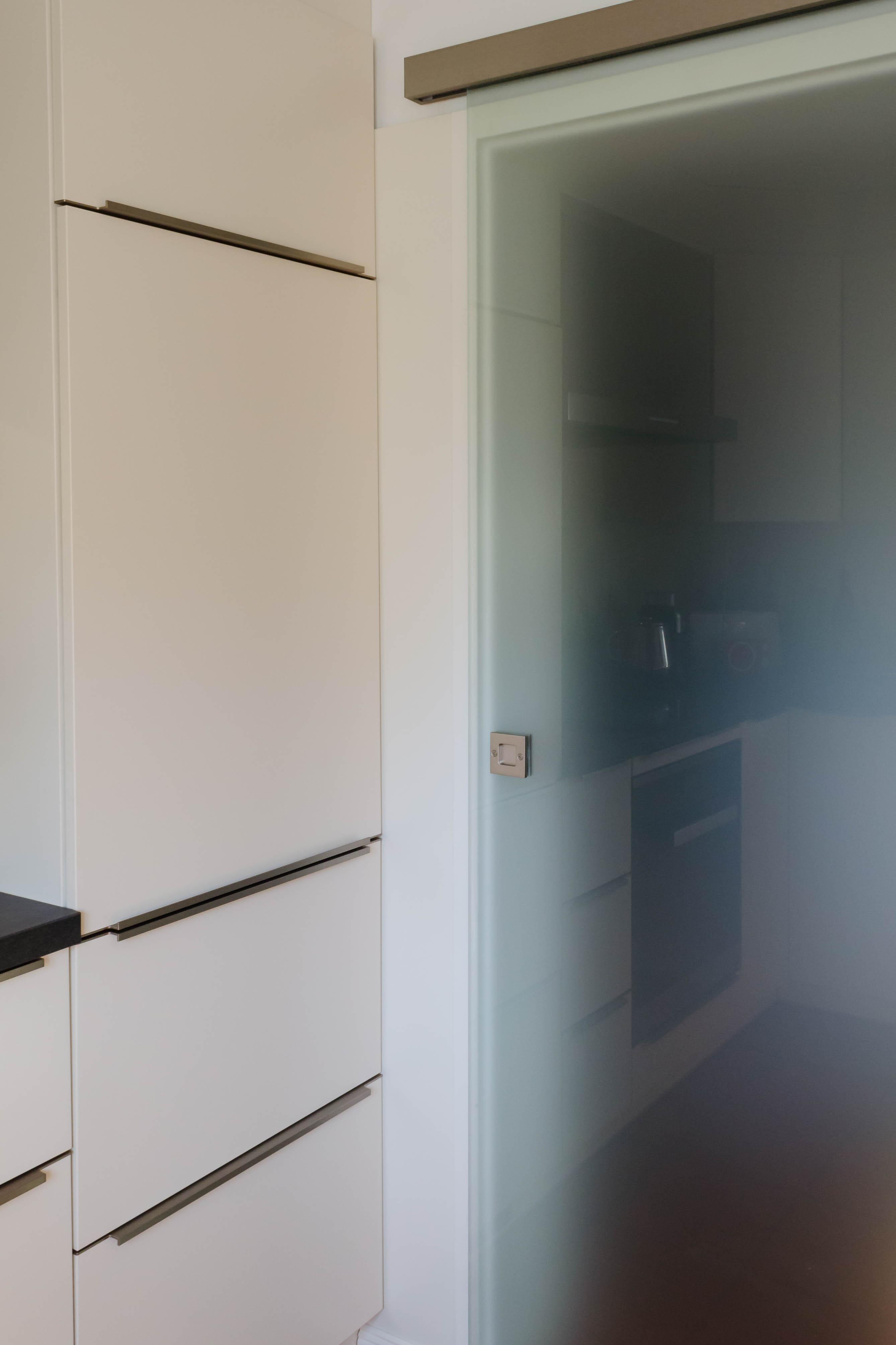 Küche Weiß Matt Lackiert