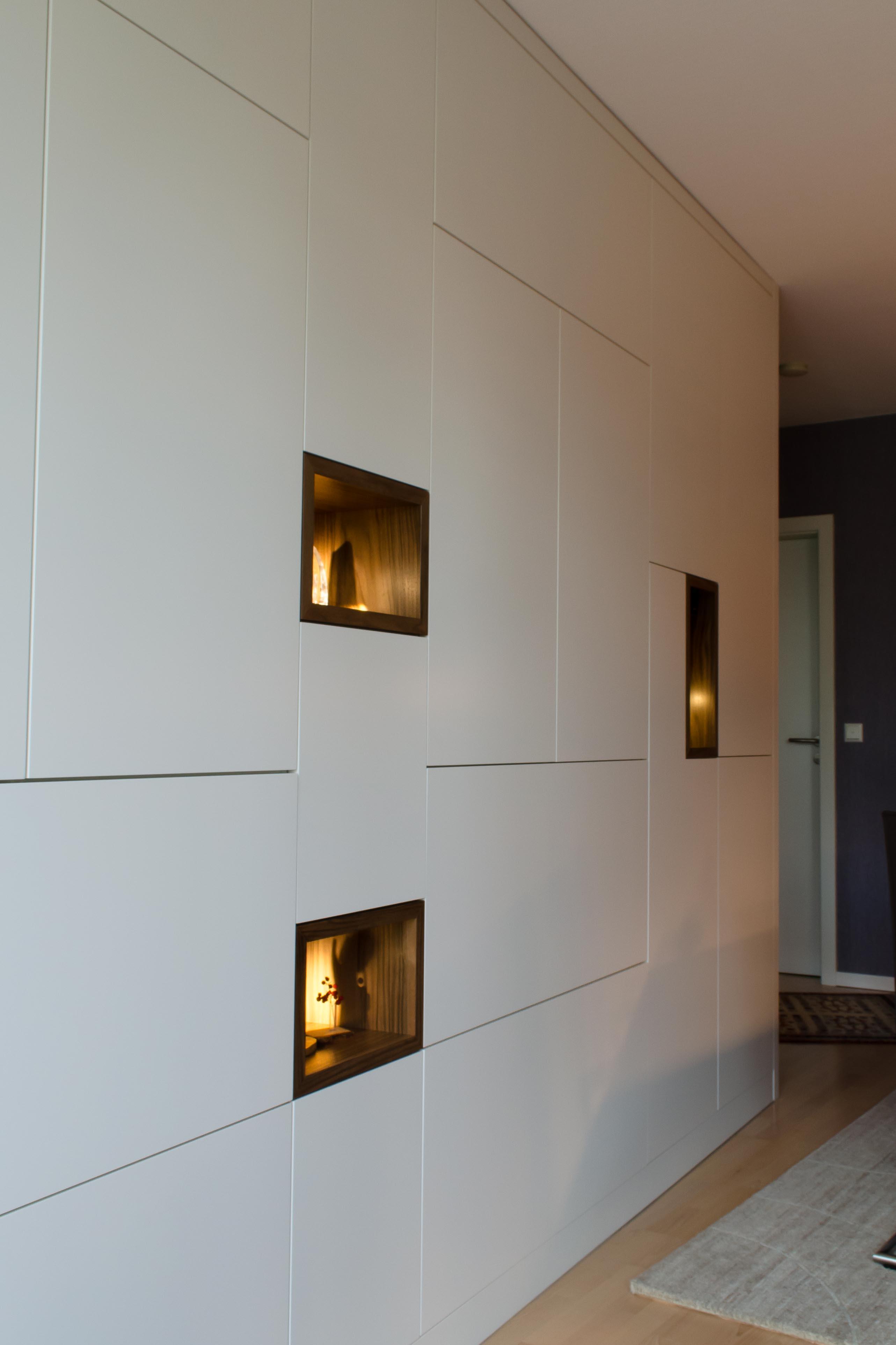 Schrankwand Wohnzimmer – Schreinerei Winnes aus Walldorf